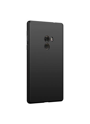 Microsonic Xiaomi Mi Mix 2 Kılıf Premium Slim Siyah Siyah